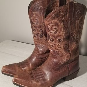 Ariat Alabama X Toe Cowgirl Boots 7.5M